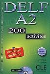 DELF A2 - 200 activites livre livre + CD gratis