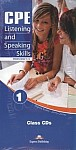 CPE (Updated 2013) Listening and Speaking Skills 1 Class Audio CDs  (set of 6)