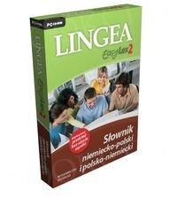 Lingea EasyLex 2 Słownik niemiecko polski polsko niemiecki (Płyta CD)