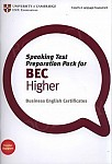Speaking Test Preparation Pack for BEC Higher Book with DVD