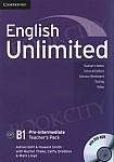 English Unlimited B1+ Intermediate książka nauczyciela