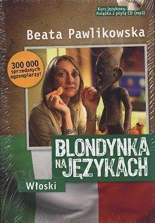 Blondynka na językach Włoski CD+mp3 Książka+CD