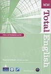 New Total English Pre-Intermediate książka nauczyciela