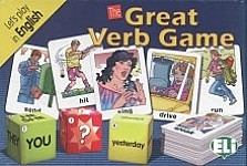 The Great Verb Game English Gra językowa z polską instrukcją i suplementem