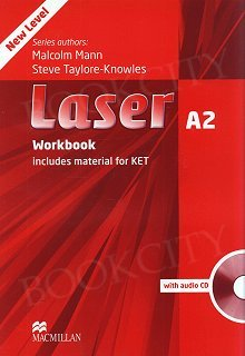 Laser A2 (New Edition) Workbook without Key with Audio CD