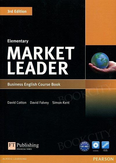 Market Leader 3rd Edition Elementary Coursebook with DVD-ROM (bez kodu)