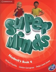 Super Minds 4 Student's Book with DVD-ROM