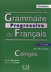 Grammaire progressive du francais. Niveau avance klucz