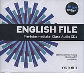 English File Pre-intermediate (3rd Edition) (2012) Class Audio CDs