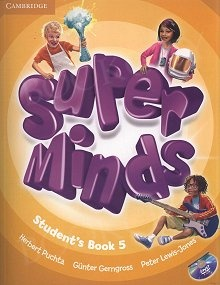 Super Minds 5 Student's Book with DVD-ROM
