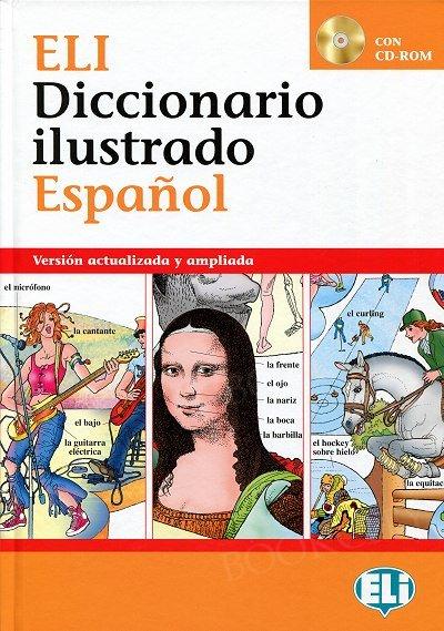 Diccionario ilustrado Espanol Książka+CD-ROM