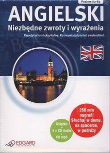 Angielski Pakiet Niezbędne zwroty i wyrażenia (Książka + mp3 + 4xAudio CD)
