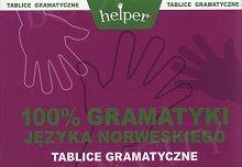 100% gramatyki języka norweskiego Tablice gramatyczne
