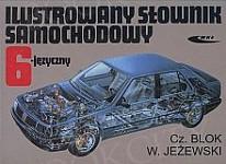Ilustrowany słownik samochodowy 6-języczny