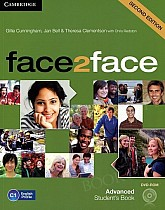 face2face 2nd Edition Advanced Student's Book with DVD-ROM