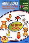 Angielski dla dzieci 3-7 lat. Pierwsze słówka. Ćwiczenia z kurką Koko.