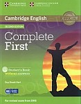 Complete First Certificate 2ed Student's Book without Answers +CD-ROM