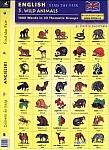 Angielski Dobierz do pary 5 Wild animals