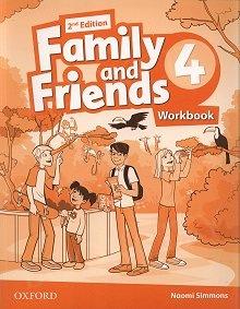 Family and Friends 4 (2nd edition) ćwiczenia