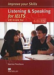 Improve your Skills for IELTS 6-7.5 Listening & Speaking Skills Książka ucznia (z kluczem)
