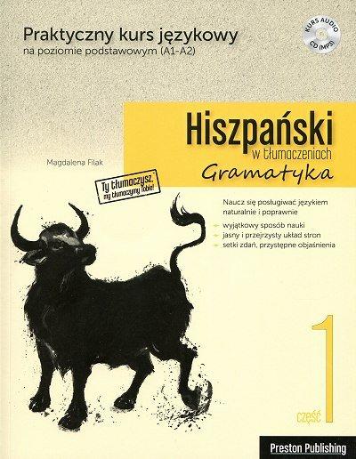 Hiszpański w tłumaczeniach. Gramatyka 1 Książka+MP3