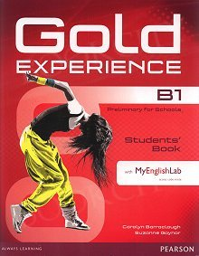 Gold Experience B1 Students' Book with Multi-ROM and MyEnglishLab