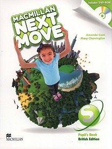Macmillan Next Move Starter Książka ucznia + DVD-ROM