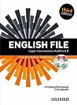 English File Upper Intermediate (3rd Edition) (2014) Multipack B with iTutor and iChecker - Student's Book B + Workbook B