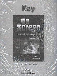 On Screen Intermediate B1+/B2 Klucz Zeszyt ćwiczeń (Workbook & Grammar Book)
