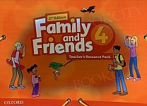 Family and Friends 4 (2nd edition) Teacher's Resource Pack