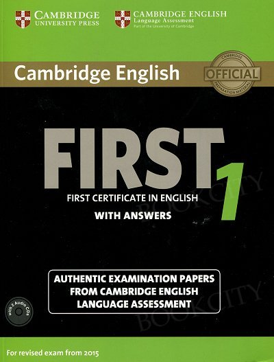 Cambridge English First 1 FCE (2015) podręcznik