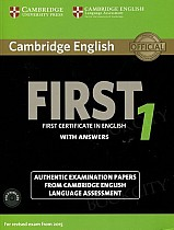 Cambridge English First 1 FCE (2015) Self Study Pack (Student's Book with answers + Audio CDs)