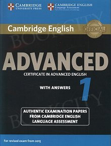 Cambridge English Advanced 1 CAE (2015) Student's Book with Answers