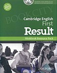 Cambridge English First Result (FCE 2015) Workbook Resource Pack without Key