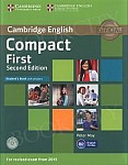 Compact First (2nd edition 2015) Student's Book with answers with CD-ROM