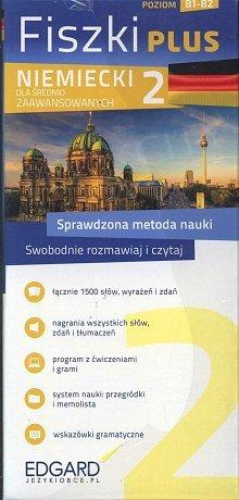Niemiecki Fiszki PLUS dla średnio zaawansowanych 2 Fiszki + program + mp3 online