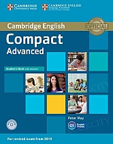Compact Advanced Student's Book with Answers & CD-ROM