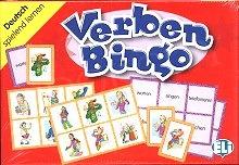 Verben Bingo Gra językowa z polską instrukcją i suplementem