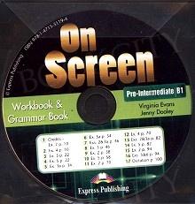 On Screen Pre-Intermediate B1 CD Workbook & Grammar Book Audio CD