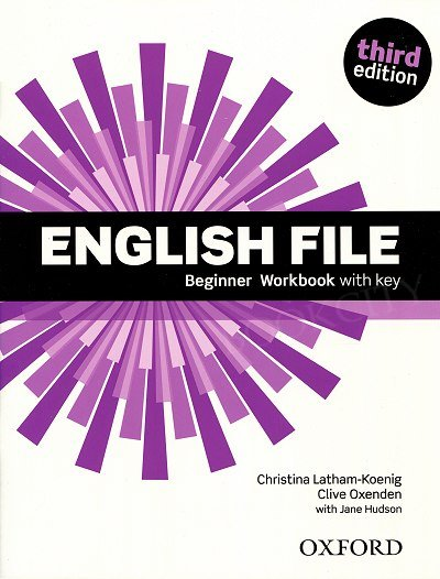 English File Beginner (3rd Edition) (2015) Workbook with Answer Booklet