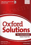 Oxford Solutions Pre-Intermediate Teacher's Power Pack