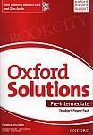 Oxford Solutions Pre-Intermediate Teacher's Power Pack