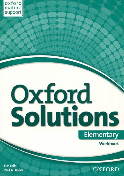 Oxford Solutions Elementary ćwiczenia