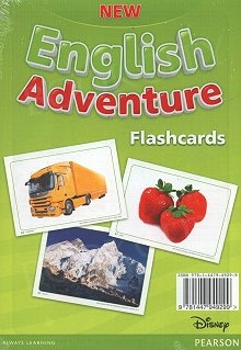 New English Adventure 2 (Reforma 2017) Flashcards