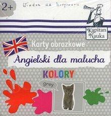 Kolory Książeczka + 17 ilustrowanych kart