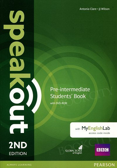 Speakout Pre-Intermediate (2nd edition) Student's Book with DVD-ROM + kod MyEnglishLab
