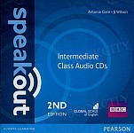 Speakout Intermediate (2nd edition) Class Audio CD
