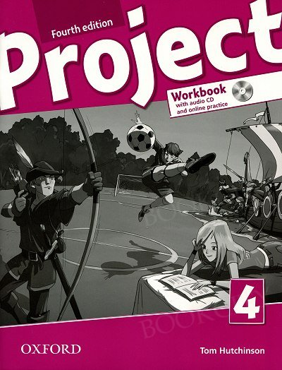 Project 4 (4th Edition) Workbook with Audio CD & Online Practice