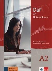DaF im Unternehmen A2 Kurs- und Übungsbuch mit Audios und Filmen online