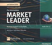 Market Leader 3rd Edition EXTRA Pre-Intermediate Class Audio CD